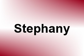 Stephany name image