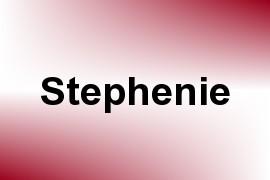 Stephenie name image