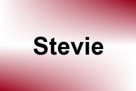 Stevie name image