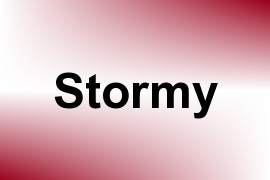 Stormy name image