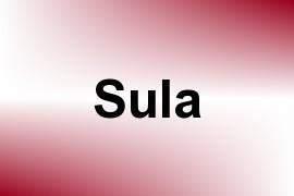 Sula name image
