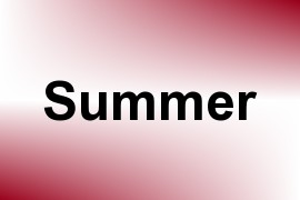 Summer name image