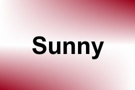 Sunny name image