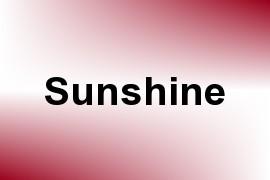 Sunshine name image