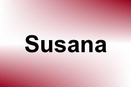 Susana name image