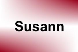 Susann name image