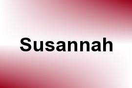 Susannah name image