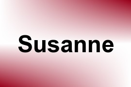 Susanne name image