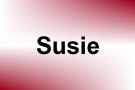 Susie name image