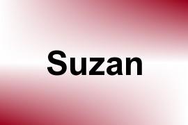 Suzan name image