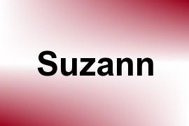 Suzann name image