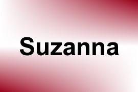 Suzanna name image