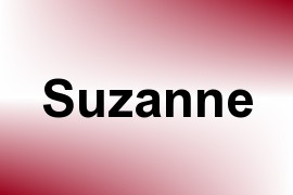 Suzanne name image