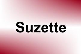 Suzette name image