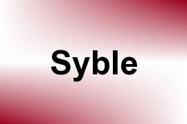 Syble name image