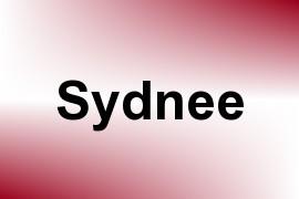 Sydnee name image