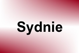 Sydnie name image
