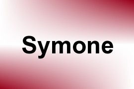 Symone name image
