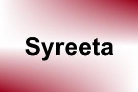 Syreeta name image