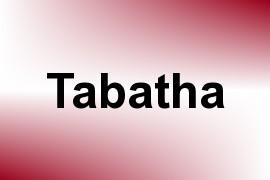 Tabatha name image