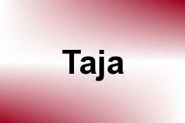 Taja name image