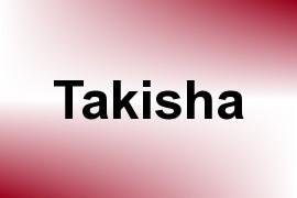 Takisha name image