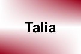 Talia name image