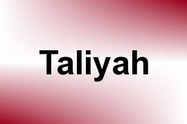 Taliyah name image