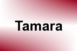 Tamara name image