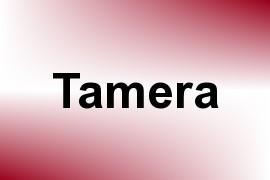 Tamera name image