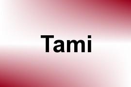 Tami name image