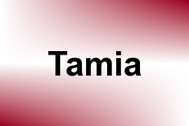 Tamia name image