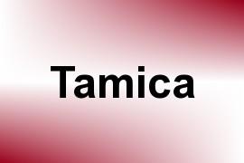 Tamica name image