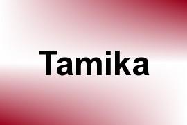Tamika name image