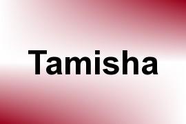 Tamisha name image