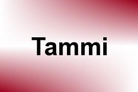Tammi name image