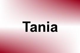 Tania name image