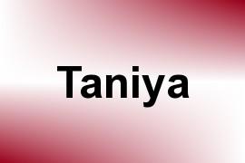 Taniya name image