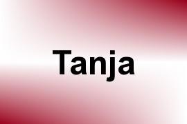 Tanja name image