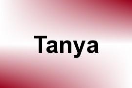 Tanya name image