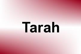 Tarah name image