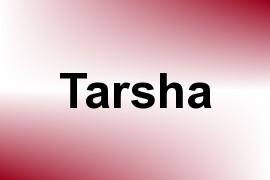Tarsha name image