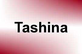 Tashina name image