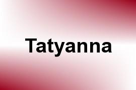 Tatyanna name image
