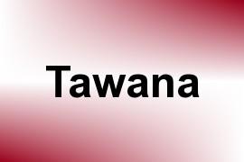 Tawana name image