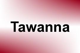 Tawanna name image