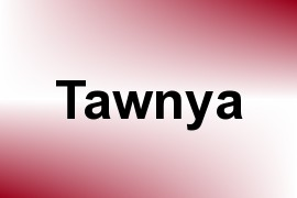 Tawnya name image