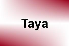 Taya name image