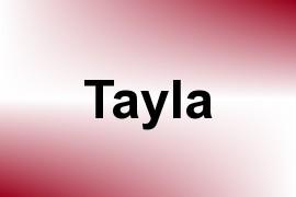Tayla name image