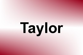 Taylor name image
